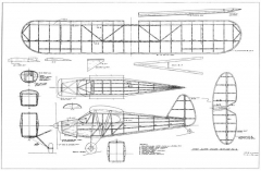 Super Cruiser 2 model airplane plan